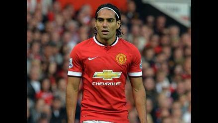 Falcao: Estoy feliz en el Manchester United y me gustaría continuar aquí