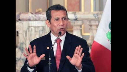 Humala: ´Villafuerte renunció porque comisión OLM lo estaba utilizando´