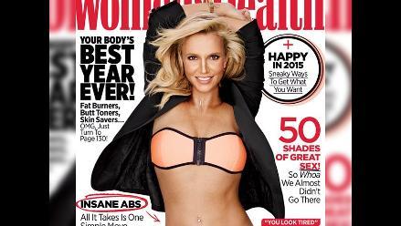 Britney Spears luce irreconocible en esta portada