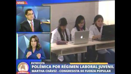 Chávez: Cometerían fraude empresas que cambien empleados por más jóvenes
