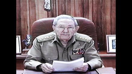 Raúl Castro anuncia restablecimiento de relaciones diplomáticas con EEUU