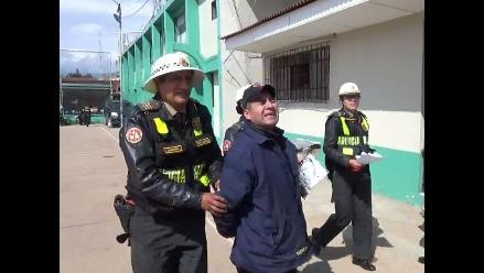 Huancayo: policía interviene a conductor en estado de ebriedad