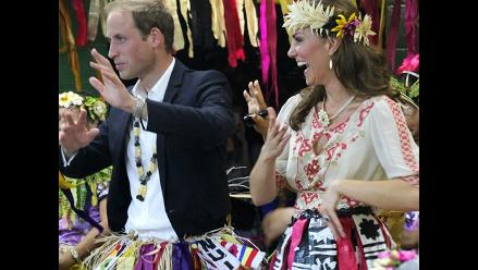 Príncipe Guillermo bromeó sobre el pelo de Kate Middleton