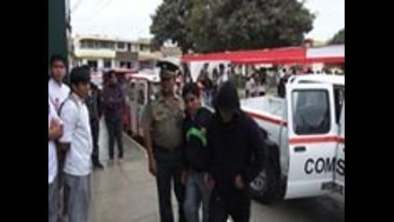 Tres presuntos ladrones se salvan de ser linchados en Puno