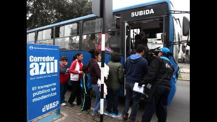 Menos de 300 vehículos saldrán del corredor Javier Prado-La Marina