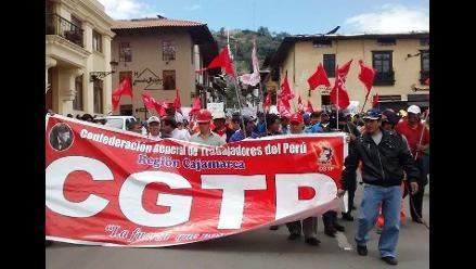 Jóvenes de la CTP, CGTP e izquierda rechazan nuevo régimen