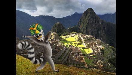 ¡Moverá el bote! El Rey Julien llegó de visita a Perú