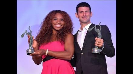 Novak Djokovic y Serena Williams fueron elegidos mejores tenistas del 2014
