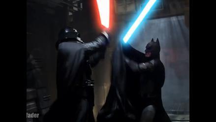 YouTube: Batman vs. Darth Vader ¿viste la pelea?
