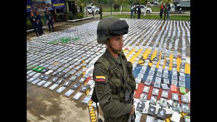 Autoridades colombianas incautan media tonelada de cocaína de las FARC