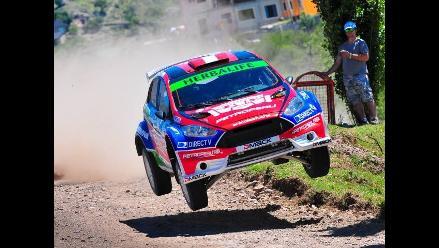 Nicolás Fuchs fue segundo en prueba clasificatoria en Rally de San Luis