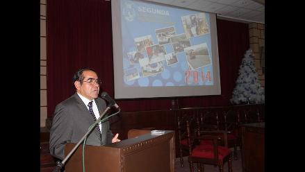 Acuña dejó rendición de cuentas en manos de vicepresidente Juan Pablo Horna