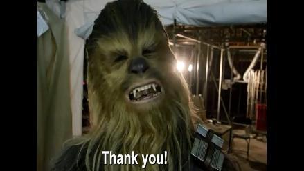 YouTube: elenco de Star Wars agradeció a fans por colaborar con Unicef