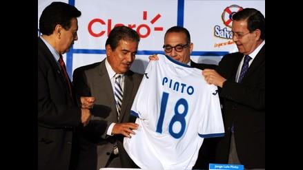 Jorge Luis Pinto fue presentado como técnico de Honduras