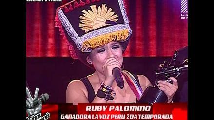 ¡Ruby Palomino es La Voz Perú 2014!