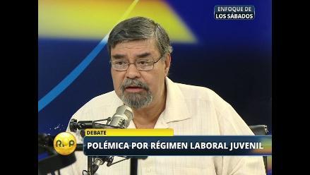 CGTP afirma que Ley Jóvenes es inconstitucional