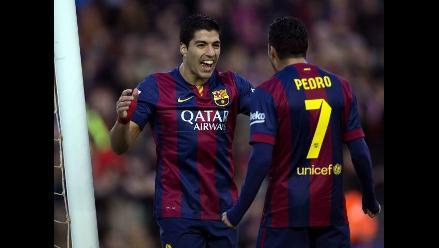 Barcelona: Luis Suárez anotó ante Córdoba su primer gol en la Liga