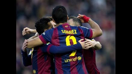 Barcelona goleó 5-0 a Córdoba con doblete de Lionel Messi y uno de Suárez