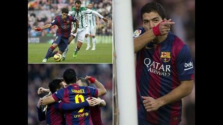 Revive en imágenes el triunfo de Barcelona sobre Córdoba en el Camp Nou