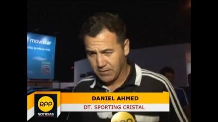 Daniel Ahmed: Necesitamos a nuestra hinchada para salir campeón