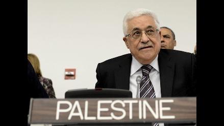 Presidente palestino: La paz no puede seguir siendo una palabra vacía