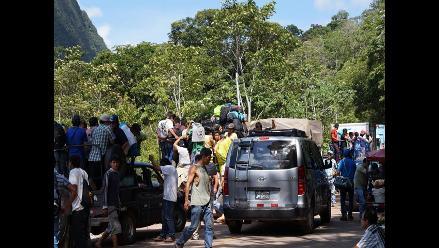 Carretera Yurimaguas-Tarapoto: solo permiten pase de vehículos livianos