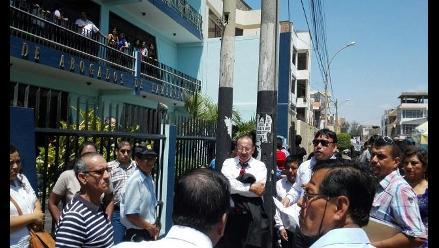 Lambayeque: asamblea de delegados toma control del Colegio de Abogados