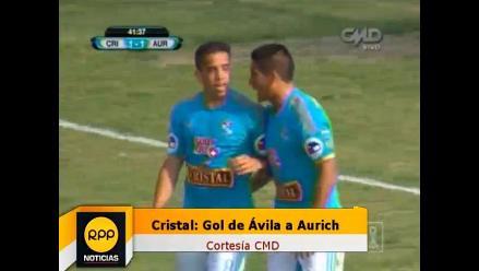 Cristal: El empate de Irven Ávila llegó con complicidad de Erick Delgado