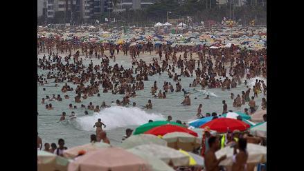 Río de Janeiro comienza el verano con sensación térmica de 55 grados