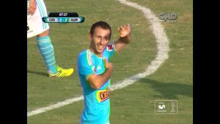 Sporting Cristal: Horacio Calcaterra anotó el 2-2 ante Juan Aurich
