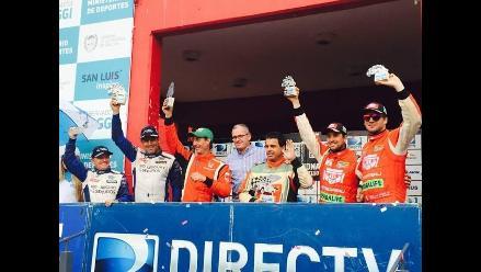 Nicolás Fuchs alcanzó podio en Rally Argentino 2014 tras correr en San Luis