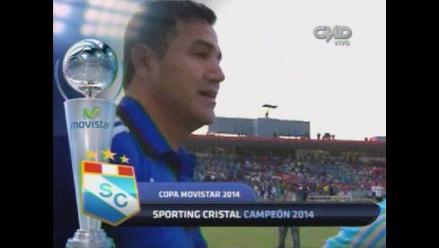 Sporting Cristal campeón: Daniel Ahmed rompió en llanto tras el título