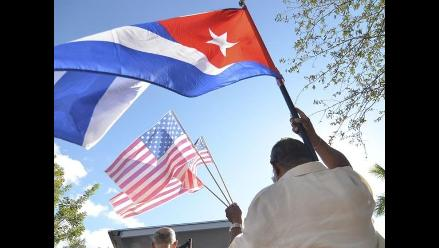 Cuba-EEUU: Exilio cubano protesta por restablecimiento de relaciones