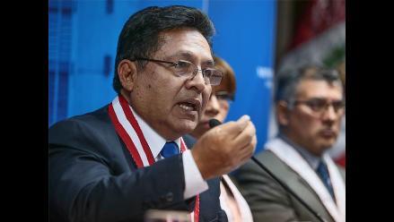 Ramos Heredia: críticas contra Fiscalía de la Nación carecen de sustento