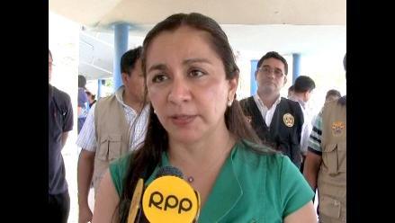 Marisol Espinoza: ´No está en mis planes postular a la presidencia´
