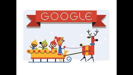 Google desea felices fiestas con navideño doodle