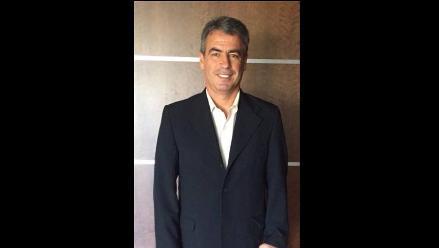 Pablo Bengoechea y su emoción a poco de ser presentado como DT en Peñarol