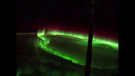 YouTube: Así lucen las auroras boreales desde el espacio exterior