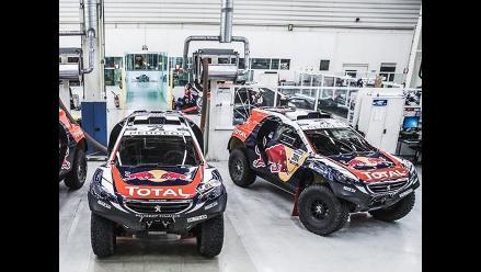 Dakar 2015: Peugeot presentó sorprendentes autos que buscan derrotar a Mini