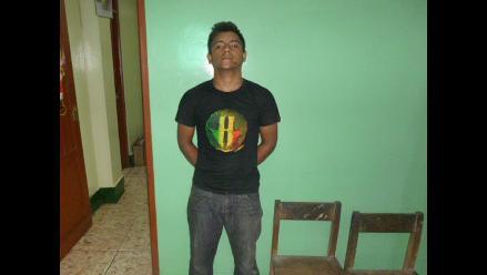 Iquitos: detienen a presunto delincuente que asaltó una farmacia