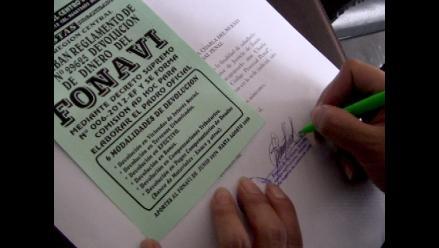 Fonavistas se sienten burlados por postergación de devolución de aportes