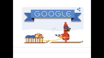 ¡Felices Fiestas! Mira el nuevo doodle de Google por Navidad