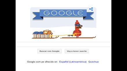 Google presentó su nuevo doodle por Navidad