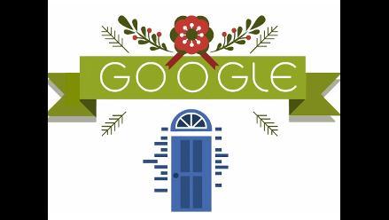 El doodle de Navidad trata del viaje para llegar a casa en nochebuena