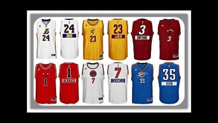 NBA: Mira las camisetas especiales preparadas para la jornada de Navidad