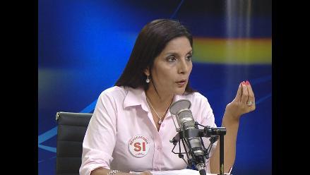 Patricia Juarez: Municipalidad de Lima está en quiebra institucional