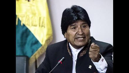 Morales dice respetar derecho de Bachelet de no asistir a su posesión