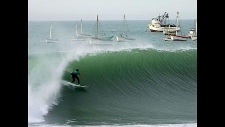 Todo listo para el inicio del Campeonato de surf en Cabo Blanco