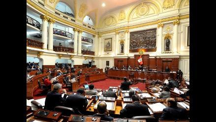 Congreso debatió 74 proyectos de ley en primer periodo anual de sesiones