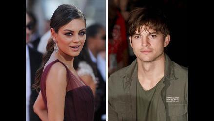 ¿Ashton Kutcher y Mila Kunis lucen anillos de casados?